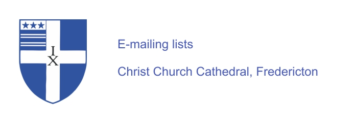 Cathedral e-mailings