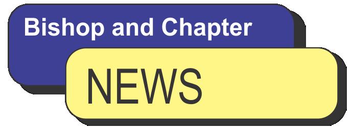 Bishop and Chapter News – Jan 2016