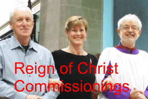 Reign of Christ Commissioning