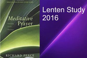 Lenten Study 2016