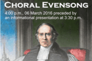 Evensong with Bishop Medley