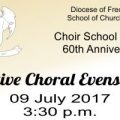 2017 Choir School Evensong