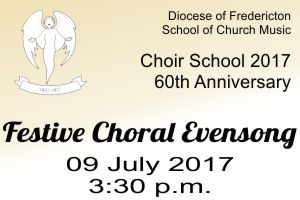 2017 Choir School Evensong