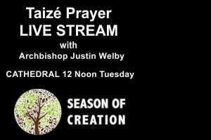 Season of Creation Taizé Prayer with the Archbishop of Canterbury