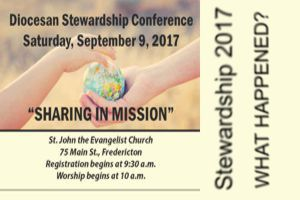 Stewardship: what will you do?