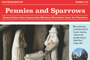 Central Saint John NB Community Ministry Newsletter – December 2017