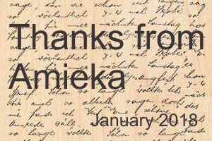 Thank you from Amieka Myers