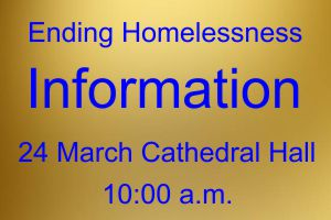 Ending Homelessness: How can the Fredericton Anglican community help?