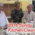 Spring 2018 Kitchen Cleaning