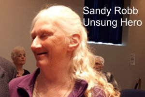 Sandy Robb – A Fredericton Unsung Hero