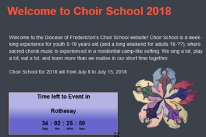 Choir School 2018 – its all about …