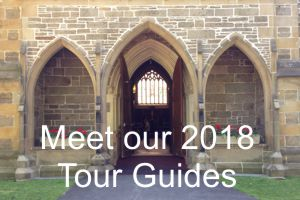 Meet our 2018 tour guides