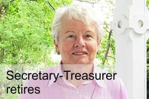 Secrtetary-Treasurer retires – Ruth Gorlick