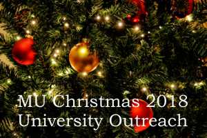2018 Christmas Mothers' Union  Outreach