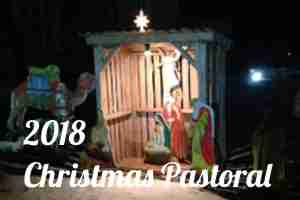 2018 Christmas Pastoral Letter