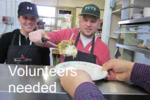 Volunteers needed for soup kitchen in 2019