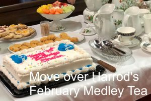Move over Harrod's: February Medley Tea