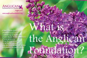 What is the Anglican Foundation of Canada?