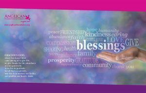 Anglican Foundation Placemat