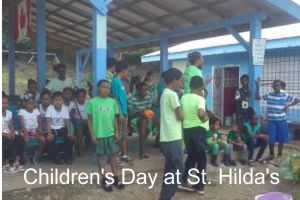 Children's Day at St. Hilda's School in Belize