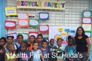 Health Fair at St. Hilda's School in Belize