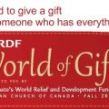 2019 PWRDF World of Gifts