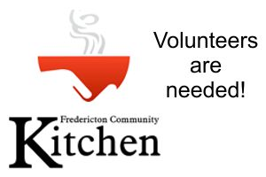 Community Kitchen volunteers needed