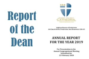 Report of the Dean of Fredericton for 2019