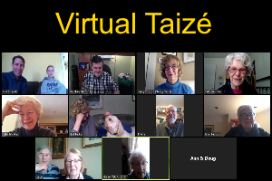 Why not connect with virtual Taizé?