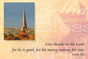 Thanksgiving 2020 Pastoral