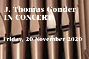 Organ Concert – 20 November 2020