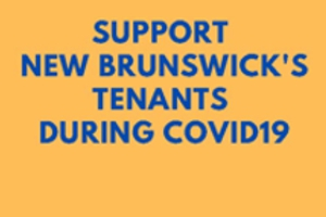 Support New Brunswick tenants during the pandemic