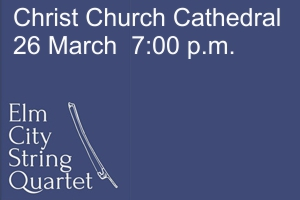 Elm City String Quartet – Friday, 26 March 2021
