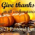 2021 Thanksgiving Pastoral